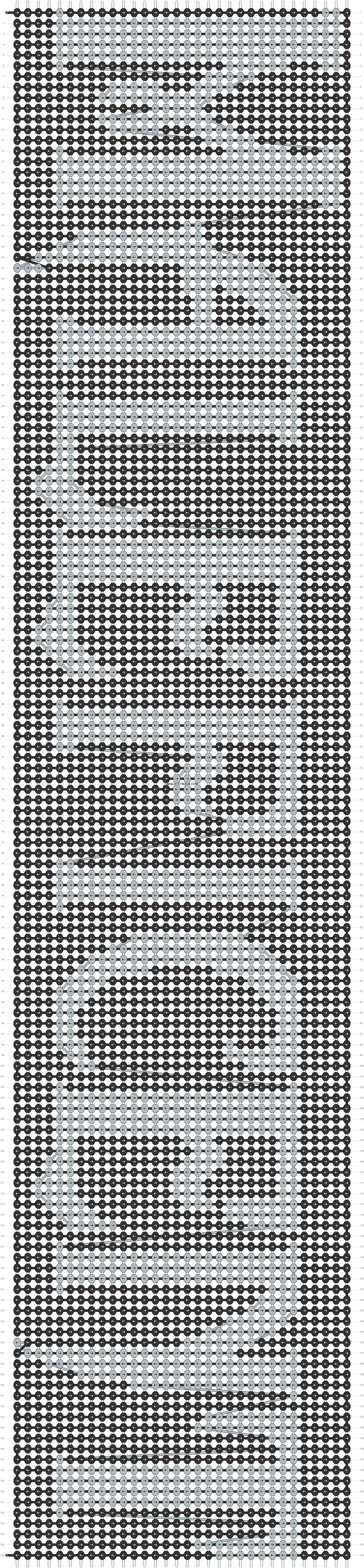 Alpha pattern #12580 pattern