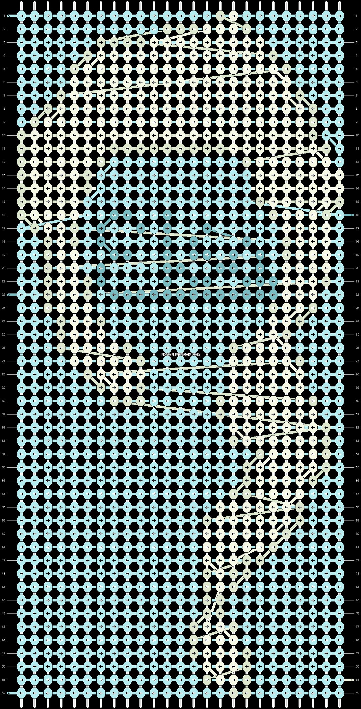 Alpha pattern #12584 pattern