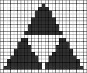 Alpha pattern #12587