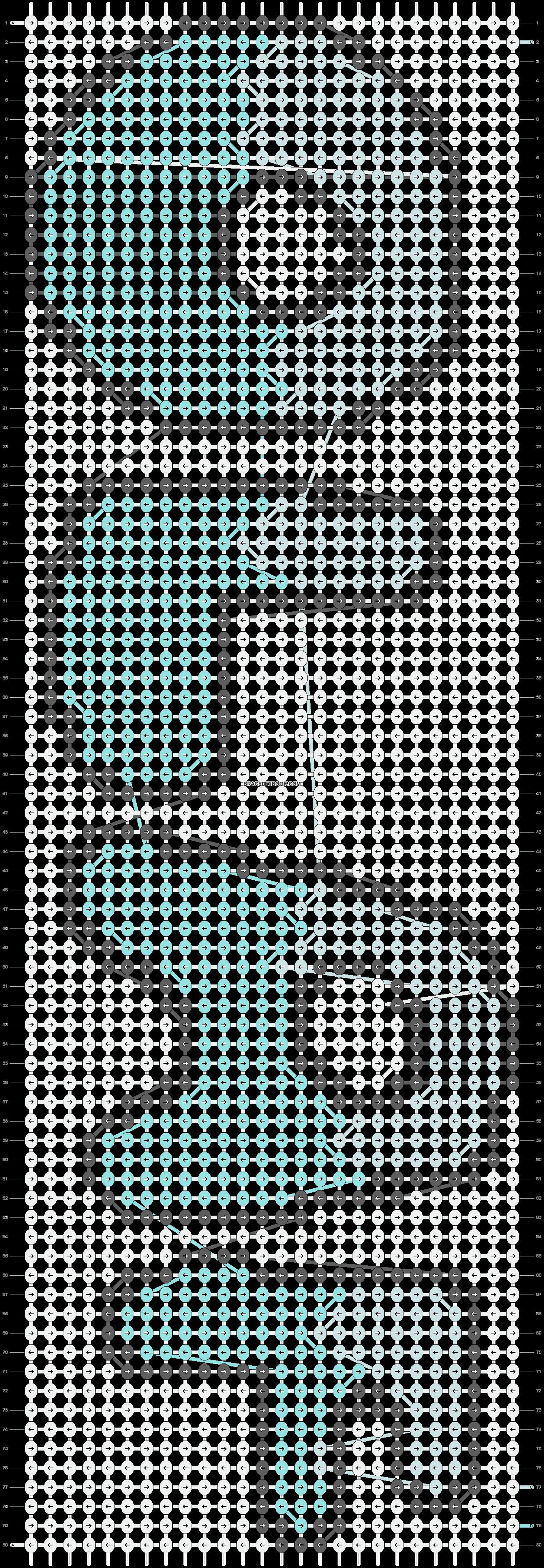Alpha pattern #12593 pattern