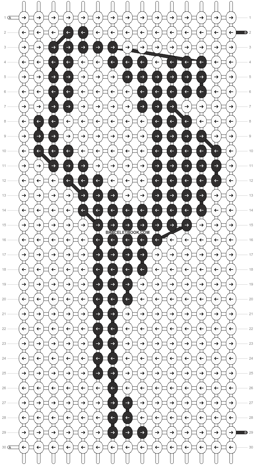 Alpha pattern #12595 pattern
