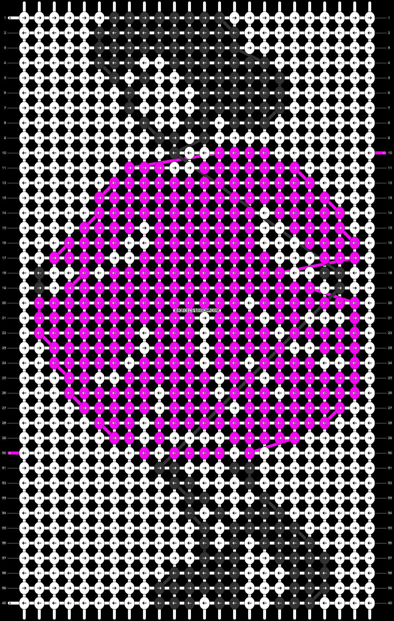 Alpha pattern #12597 pattern