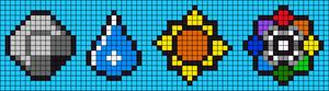 Alpha pattern #12599