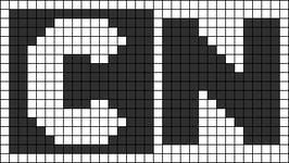 Alpha pattern #12606