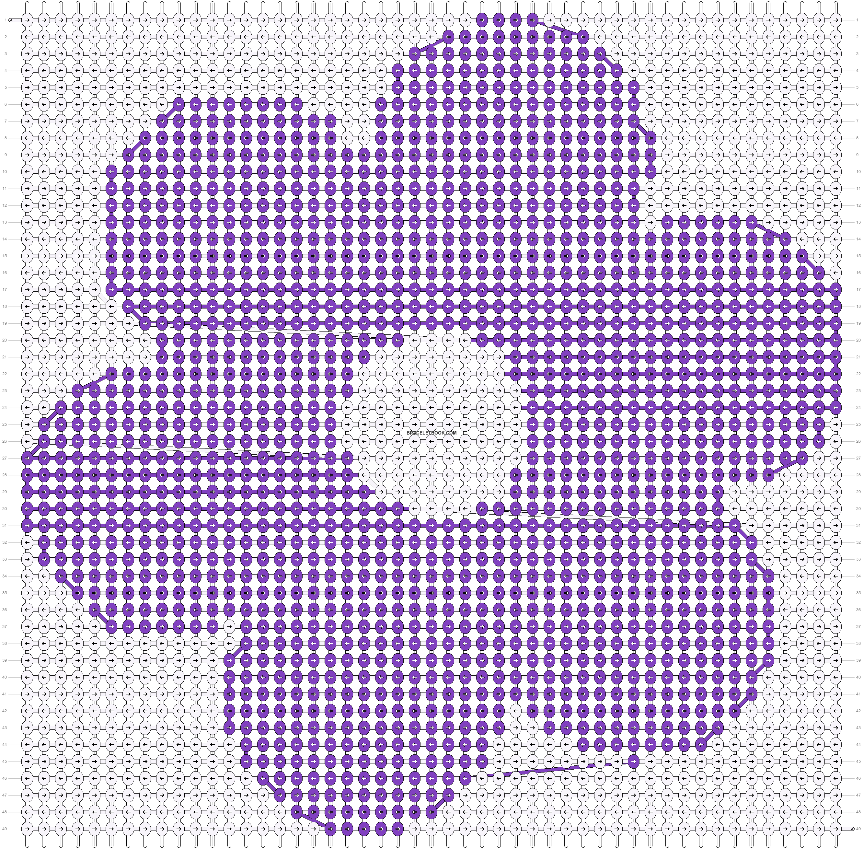 Alpha pattern #12612 pattern