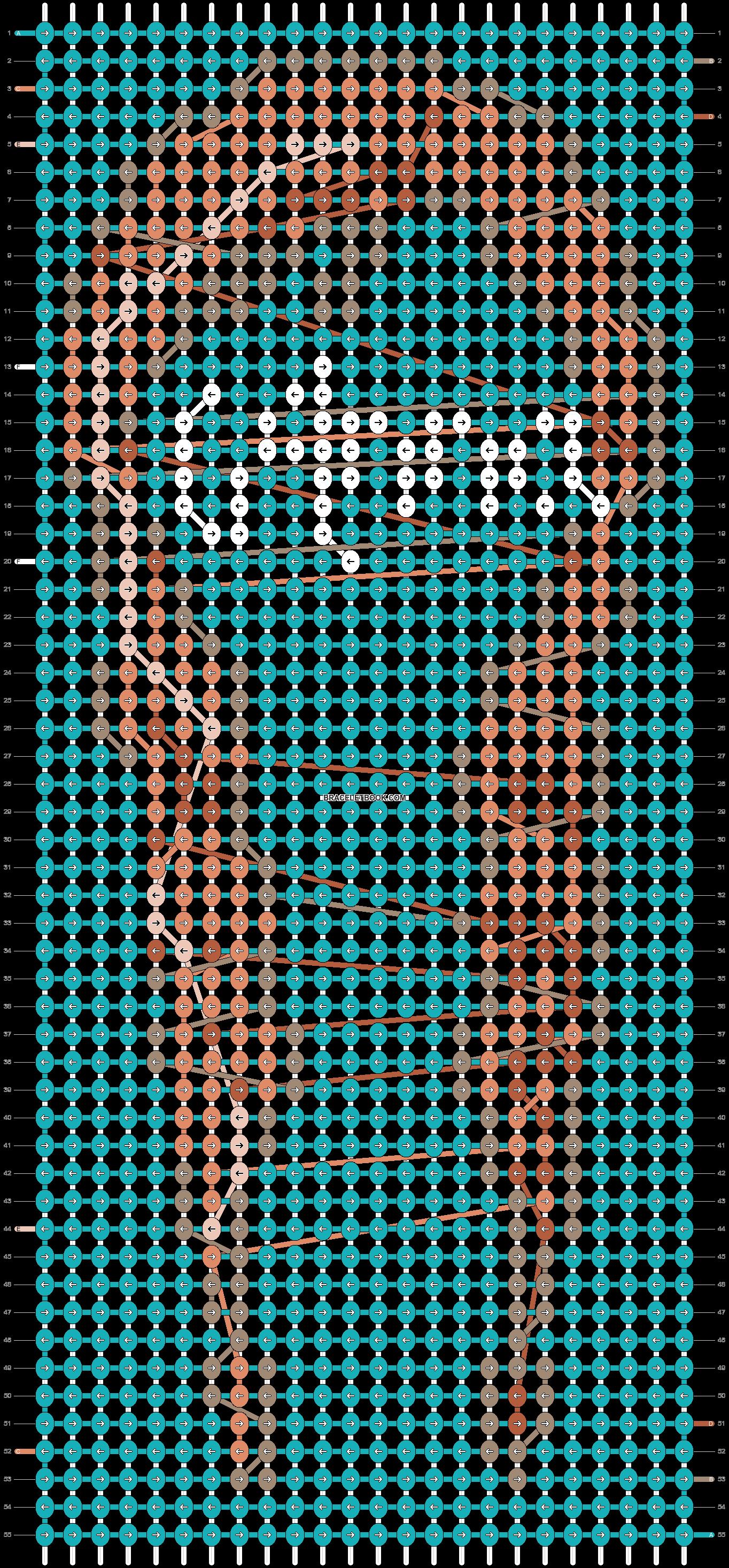 Alpha pattern #12615 pattern