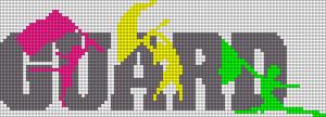 Alpha Friendship Bracelet Pattern #12621