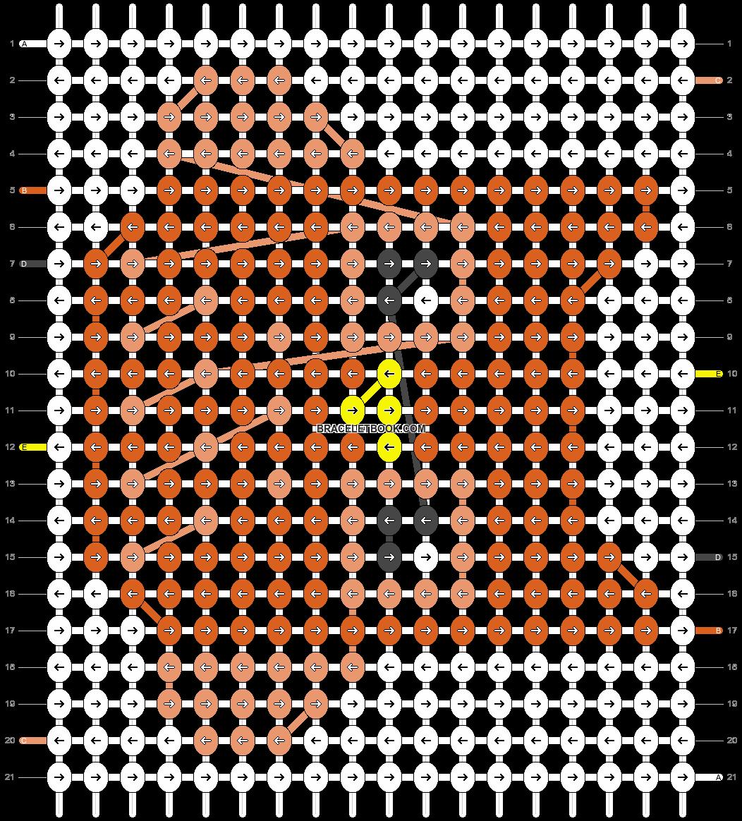 Alpha pattern #12622 pattern