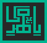 Alpha pattern #12624