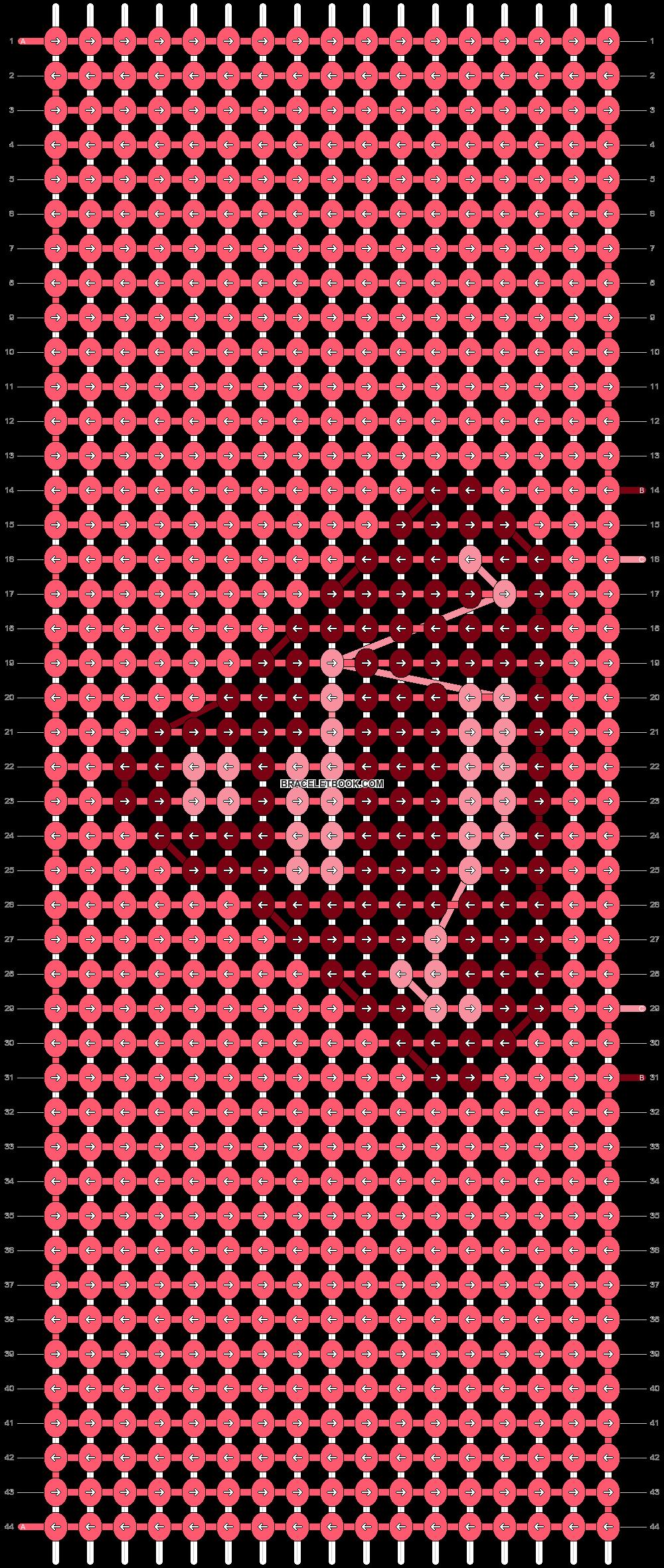 Alpha pattern #12627 pattern