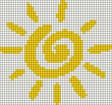 Alpha pattern #12631