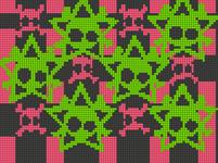 Alpha Friendship Bracelet Pattern #12639