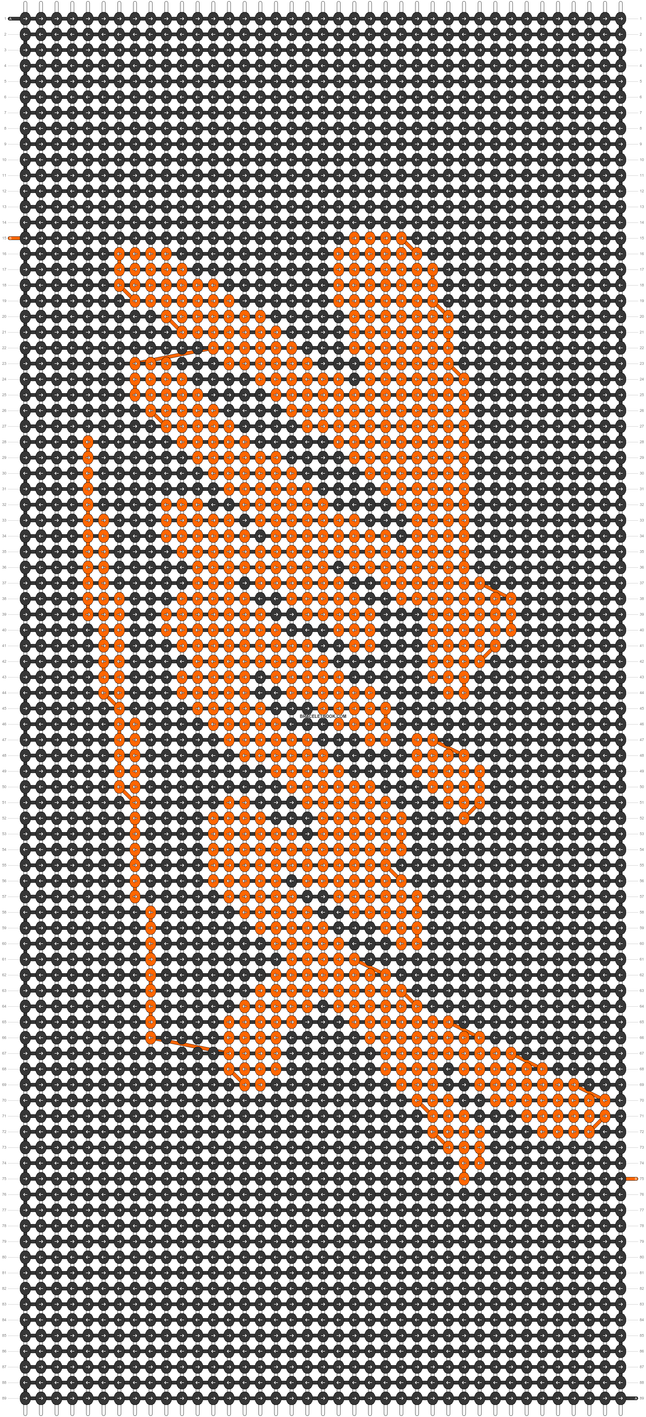 Alpha pattern #12643 pattern