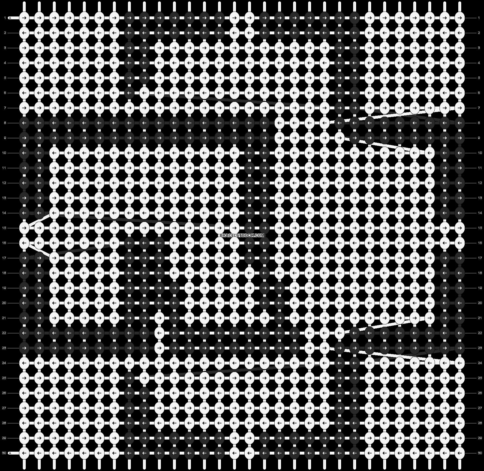 Alpha pattern #12644 pattern