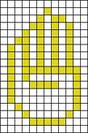 Alpha pattern #12646