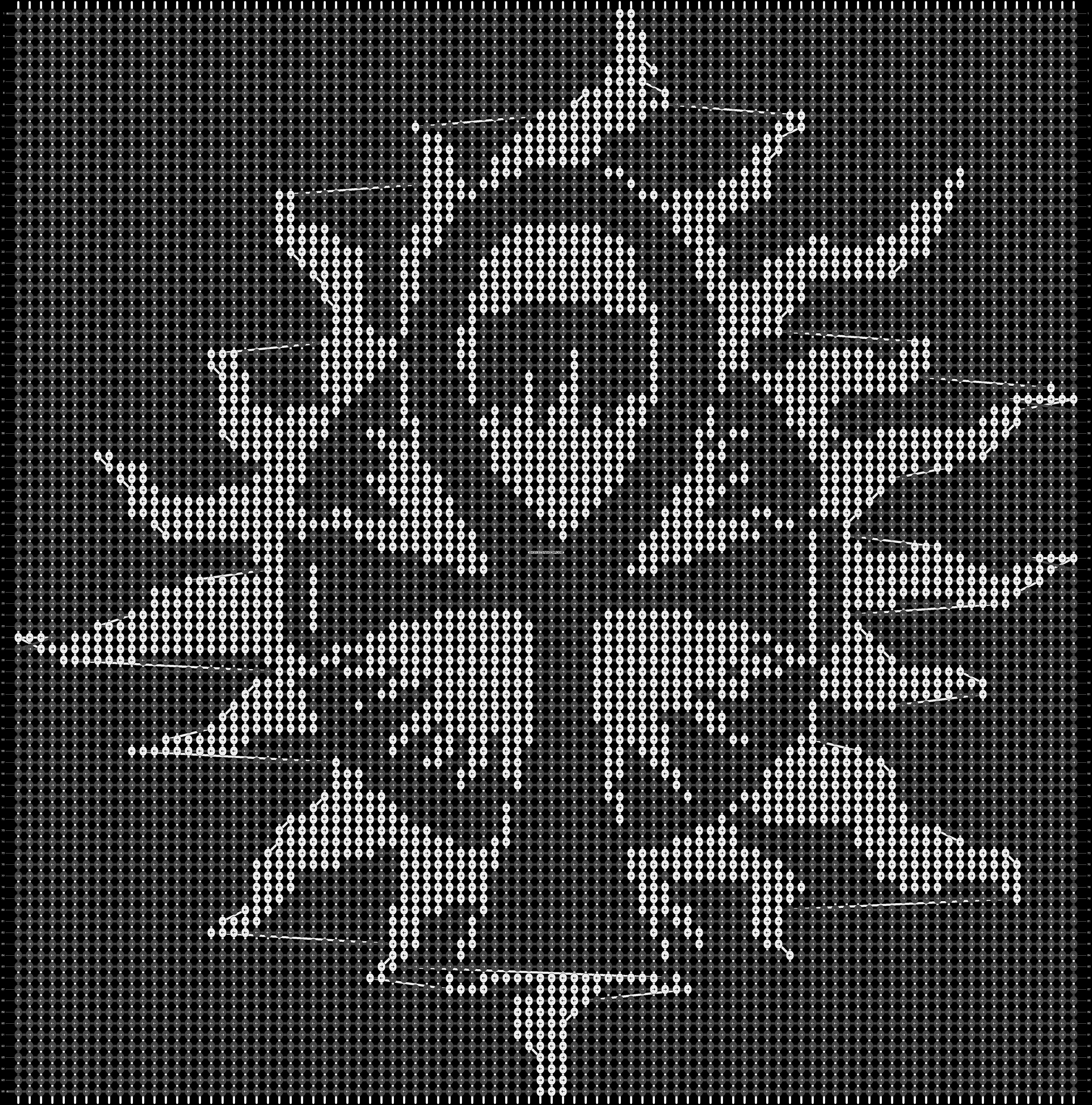 Alpha pattern #12647 pattern