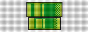 Alpha Friendship Bracelet Pattern #12650