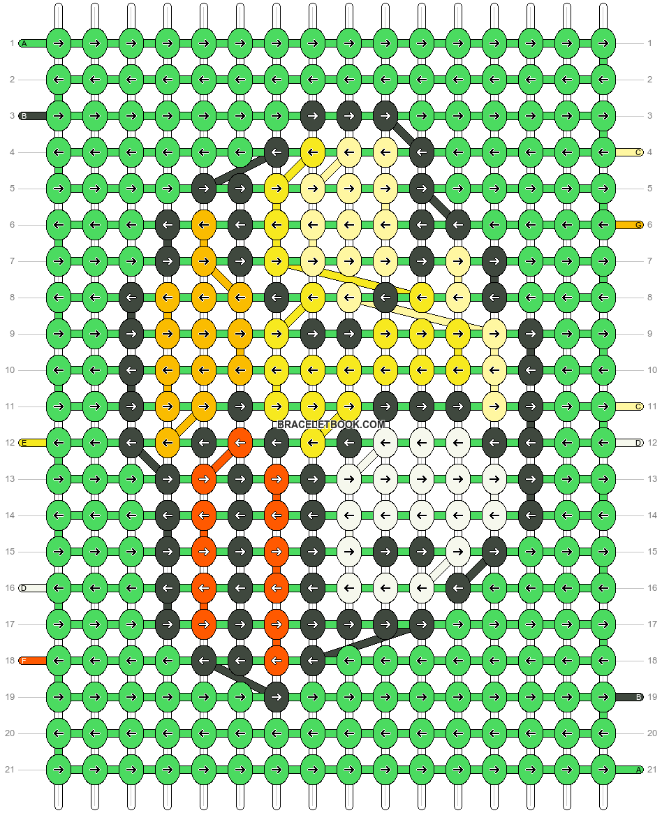 Alpha pattern #12651 pattern