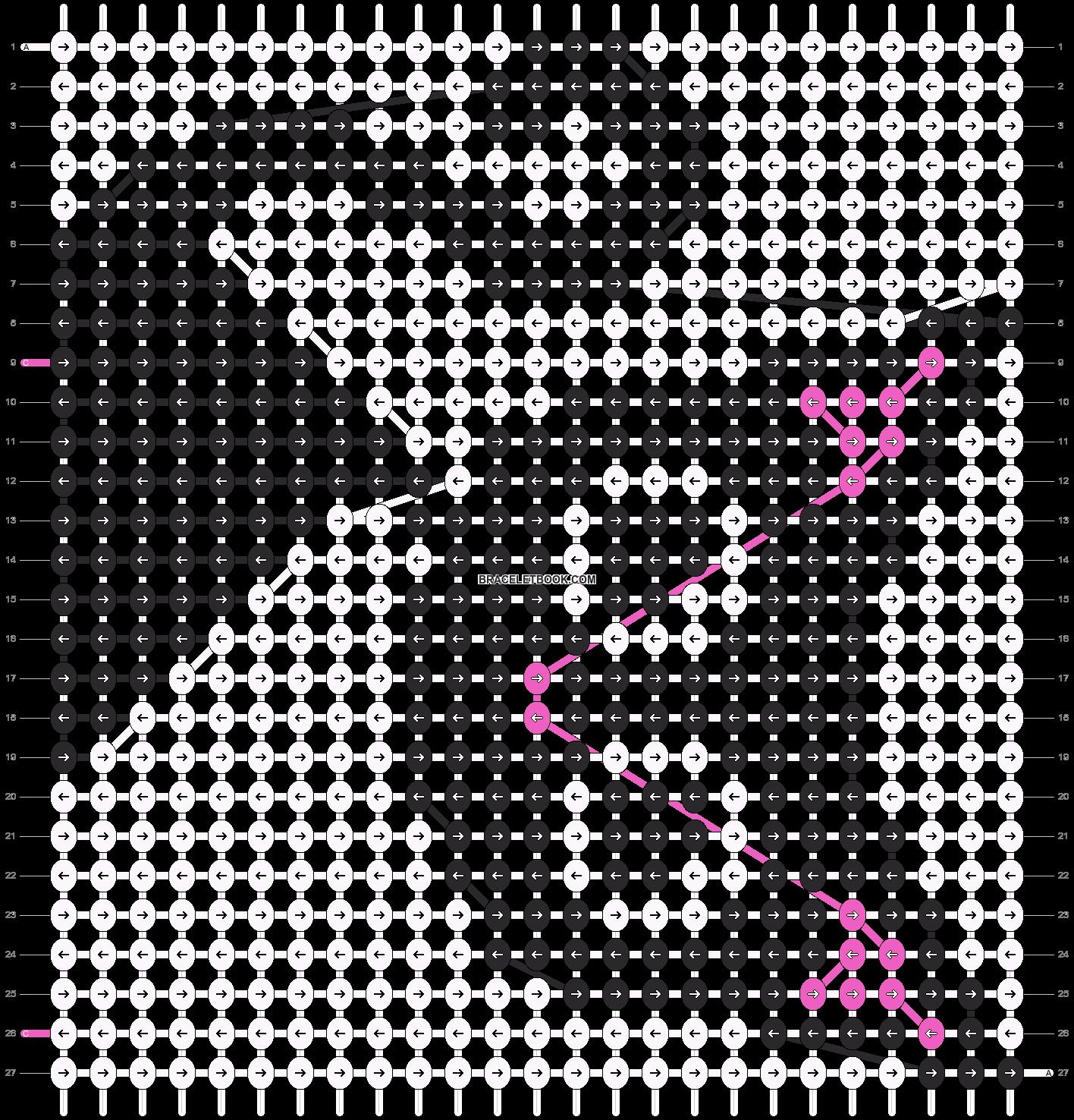 Alpha pattern #12653 pattern