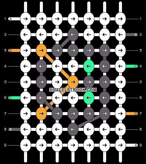 Alpha pattern #12657 pattern