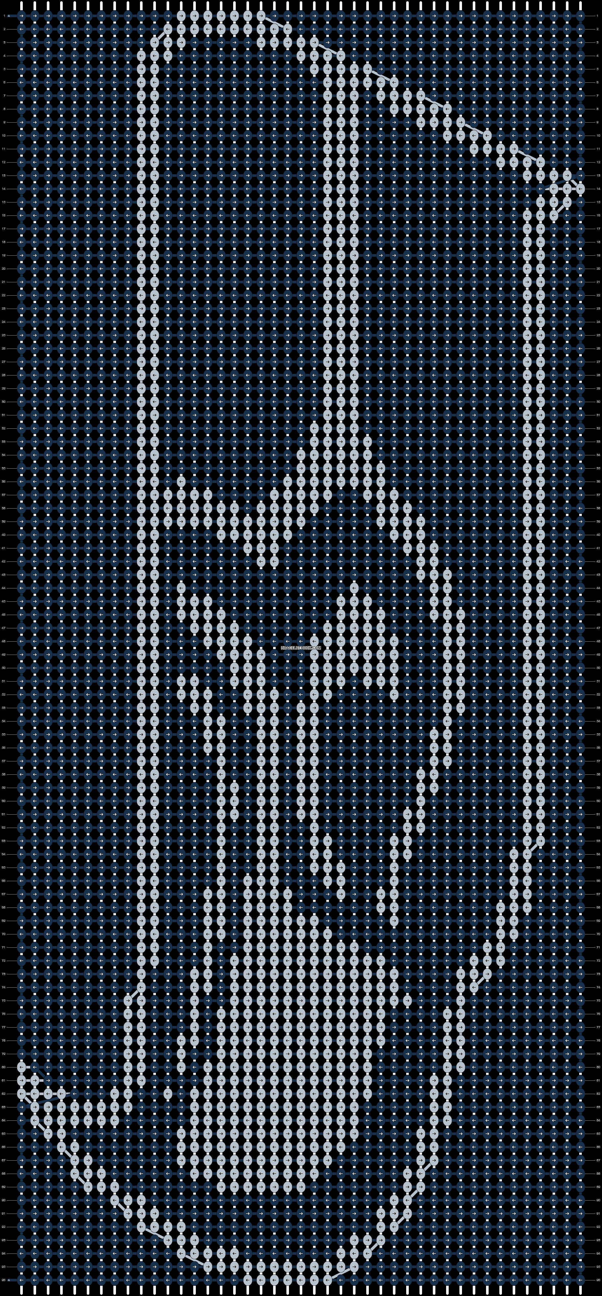 Alpha pattern #12658 pattern