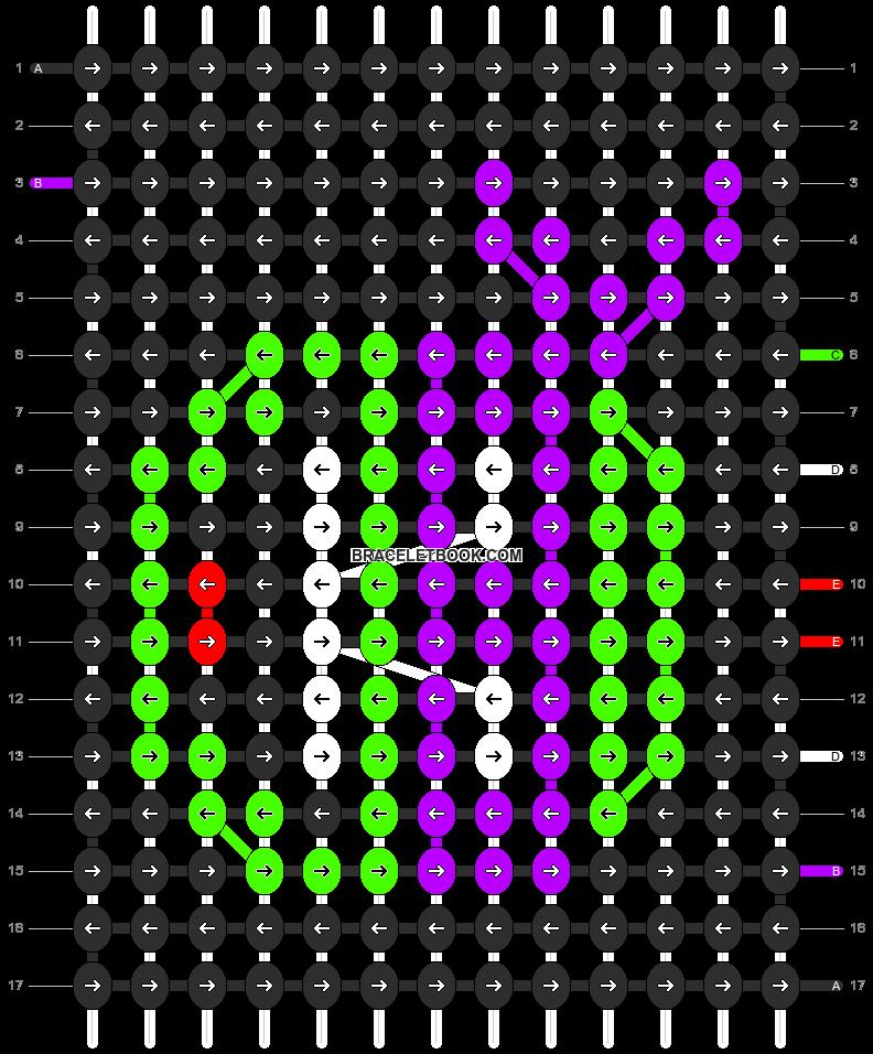 Alpha pattern #12659 pattern