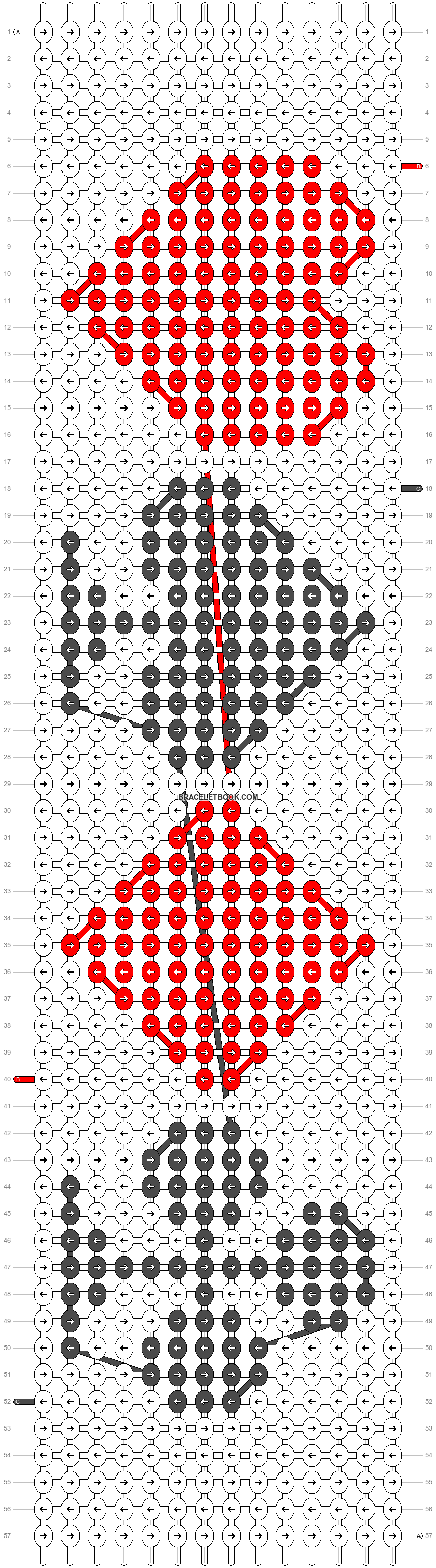 Alpha pattern #12667 pattern