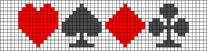 Alpha Friendship Bracelet Pattern #12667