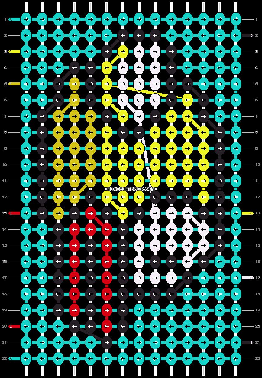 Alpha pattern #12674 pattern