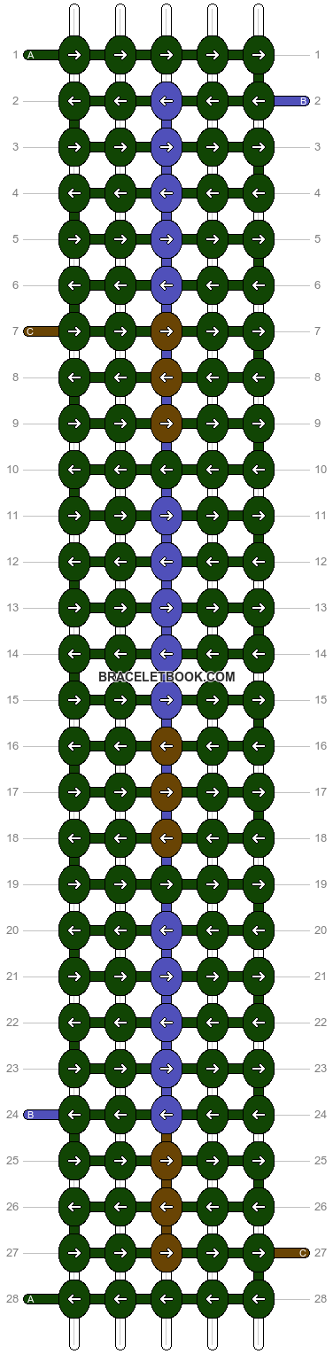 Alpha pattern #12676 pattern