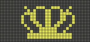 Alpha pattern #12677