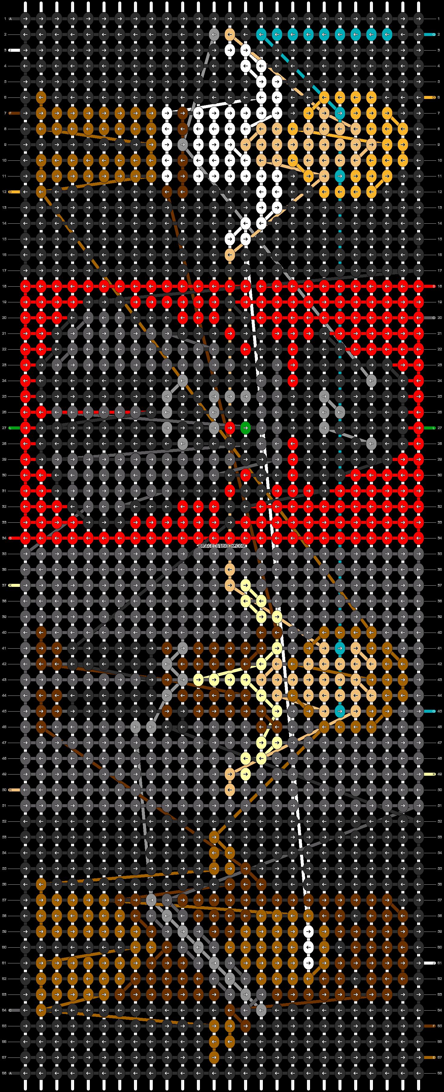 Alpha pattern #12681 pattern