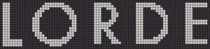 Alpha Friendship Bracelet Pattern #12682