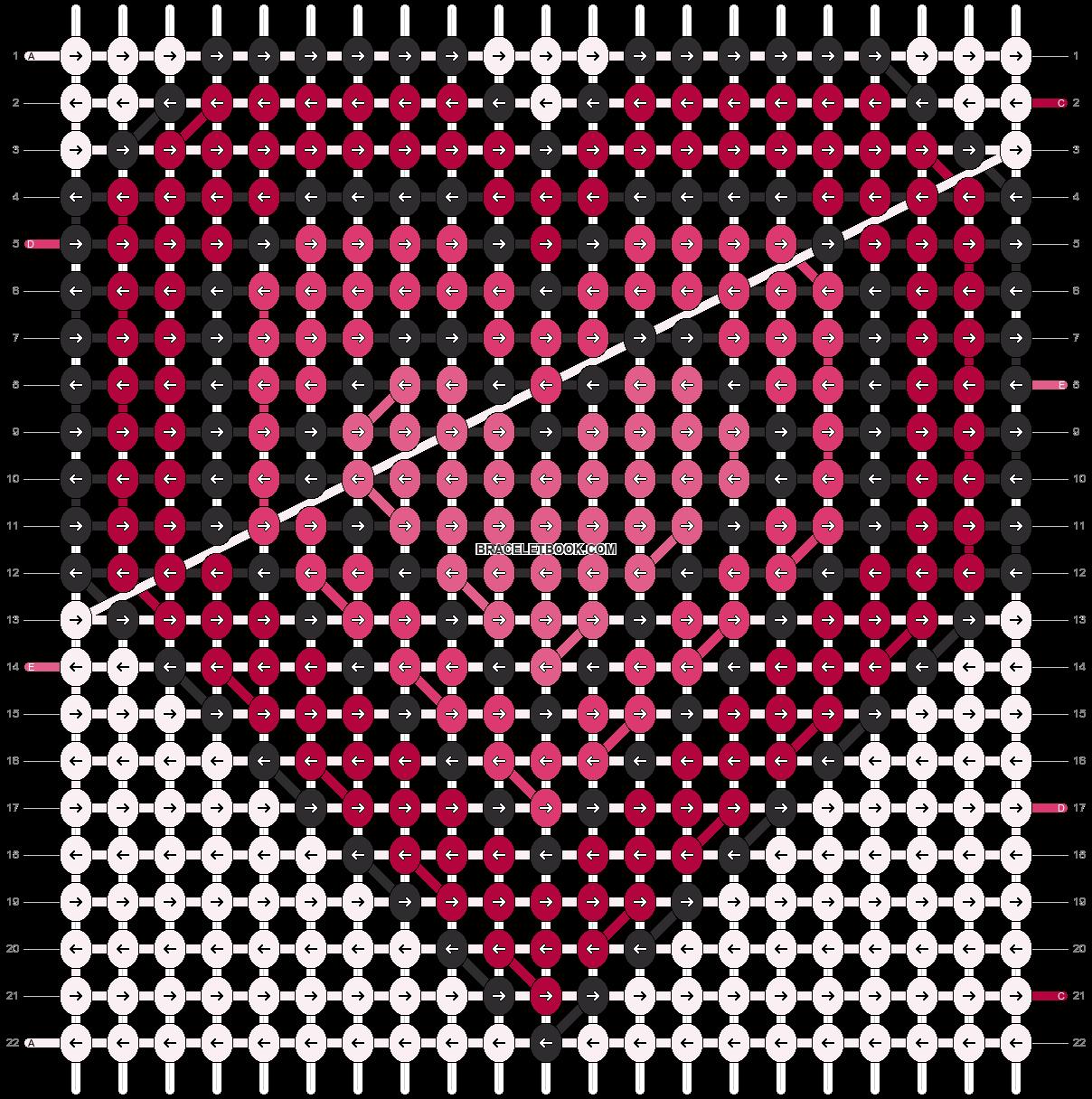 Alpha pattern #12684 pattern