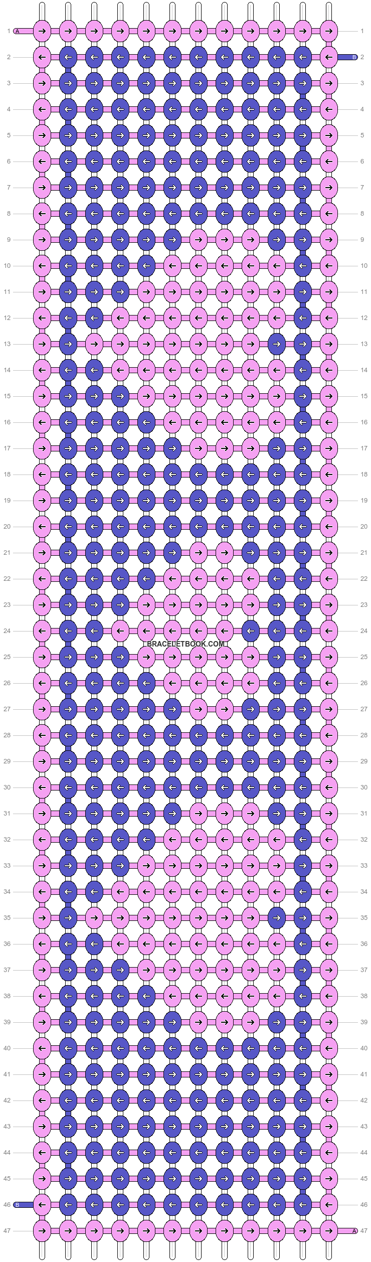 Alpha pattern #12686 pattern