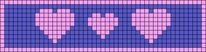 Alpha Friendship Bracelet Pattern #12686