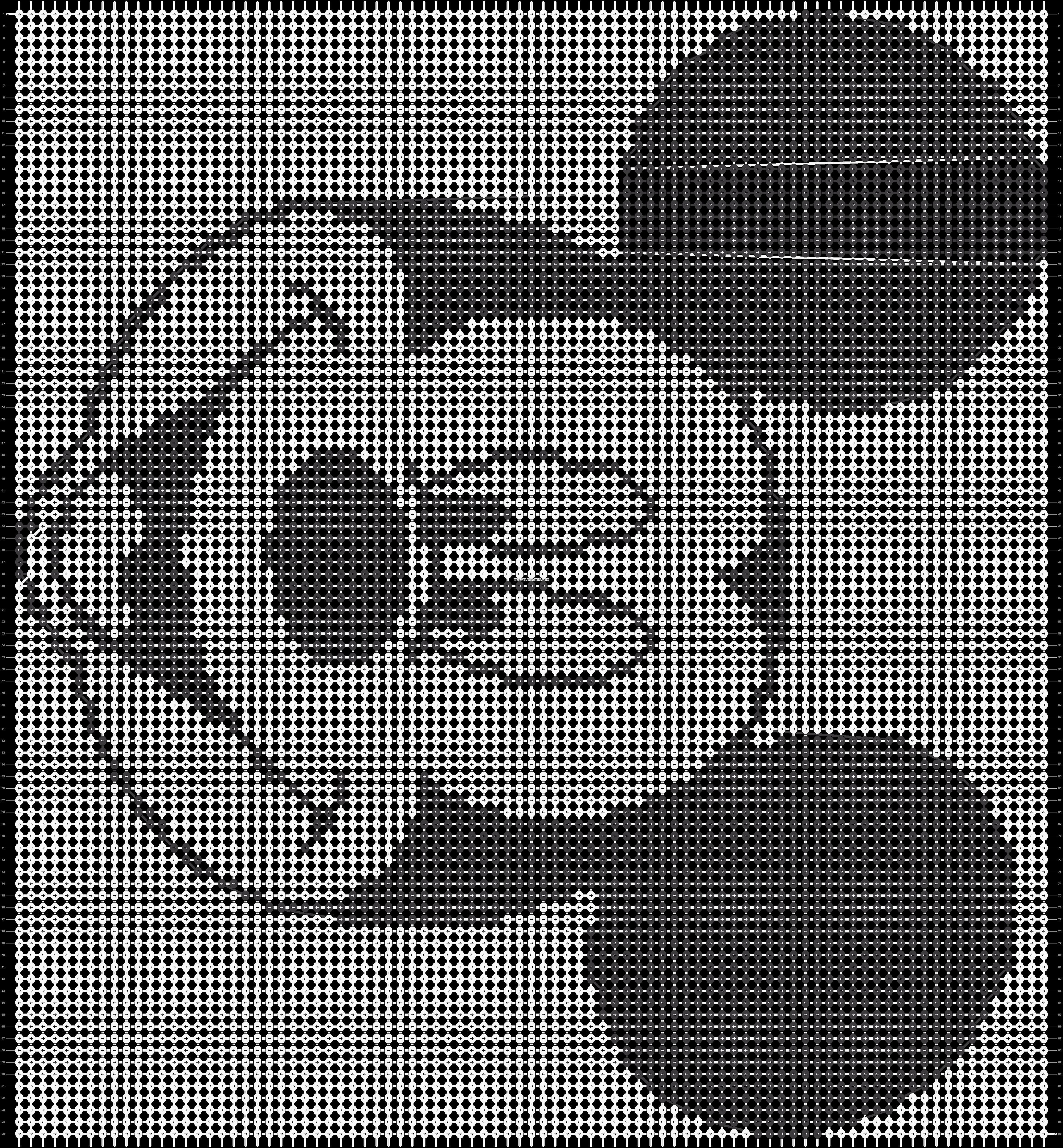 Alpha pattern #12687 pattern
