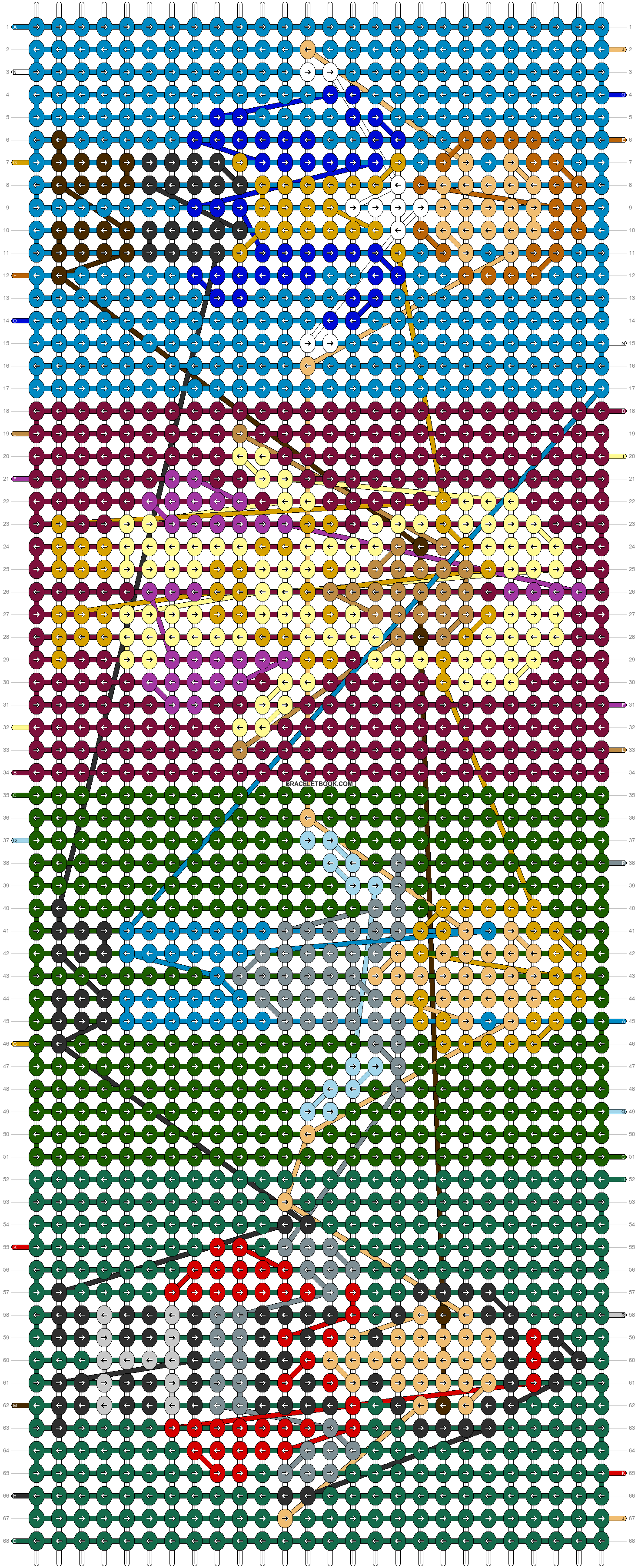 Alpha pattern #12693 pattern