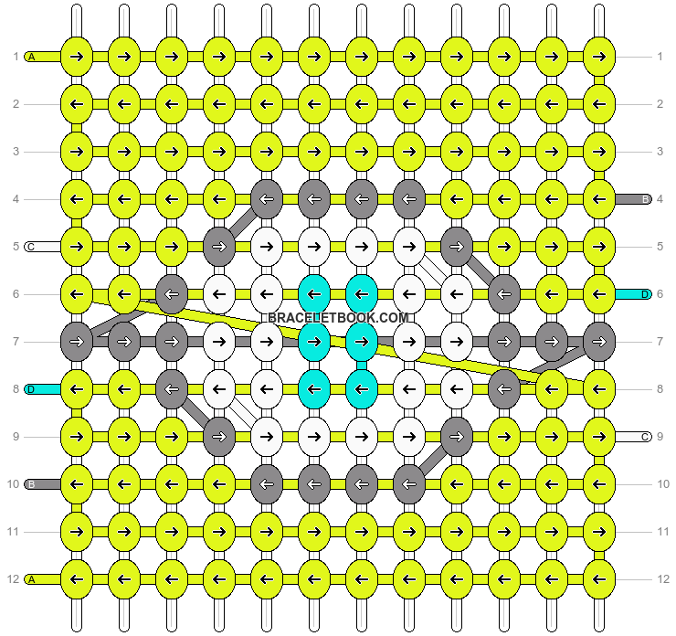 Alpha pattern #12705 pattern