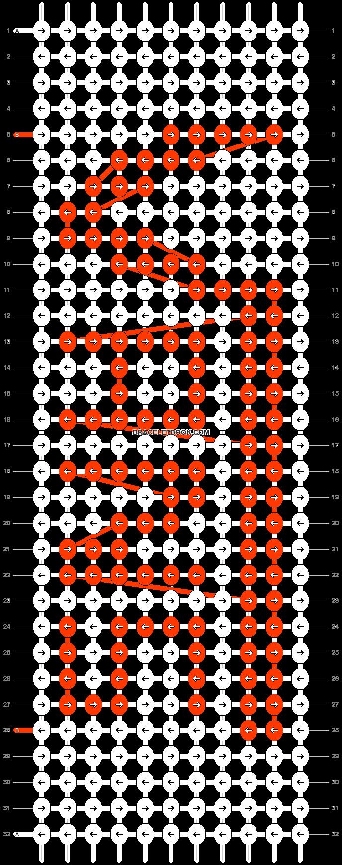 Alpha pattern #12710 pattern