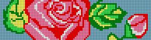 Alpha Friendship Bracelet Pattern #12711