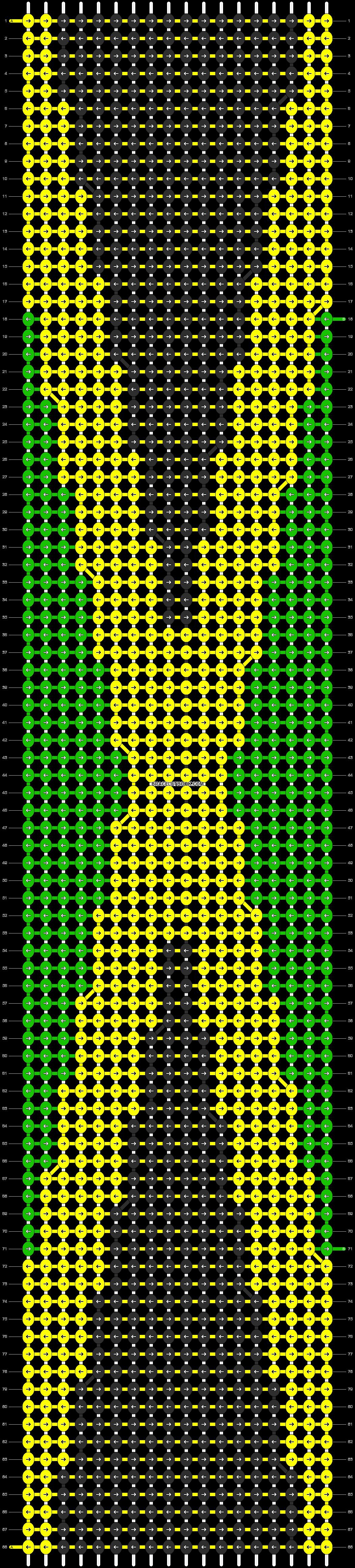 Alpha pattern #12714 pattern