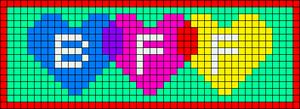 Alpha pattern #12717