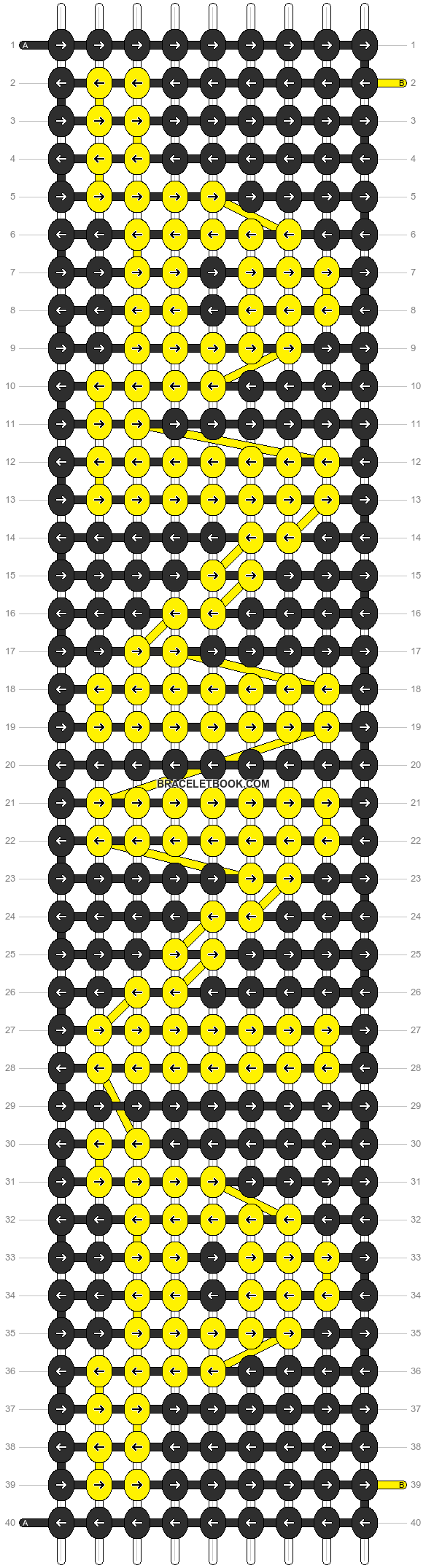 Alpha pattern #12729 pattern