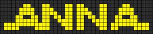 Alpha pattern #12729