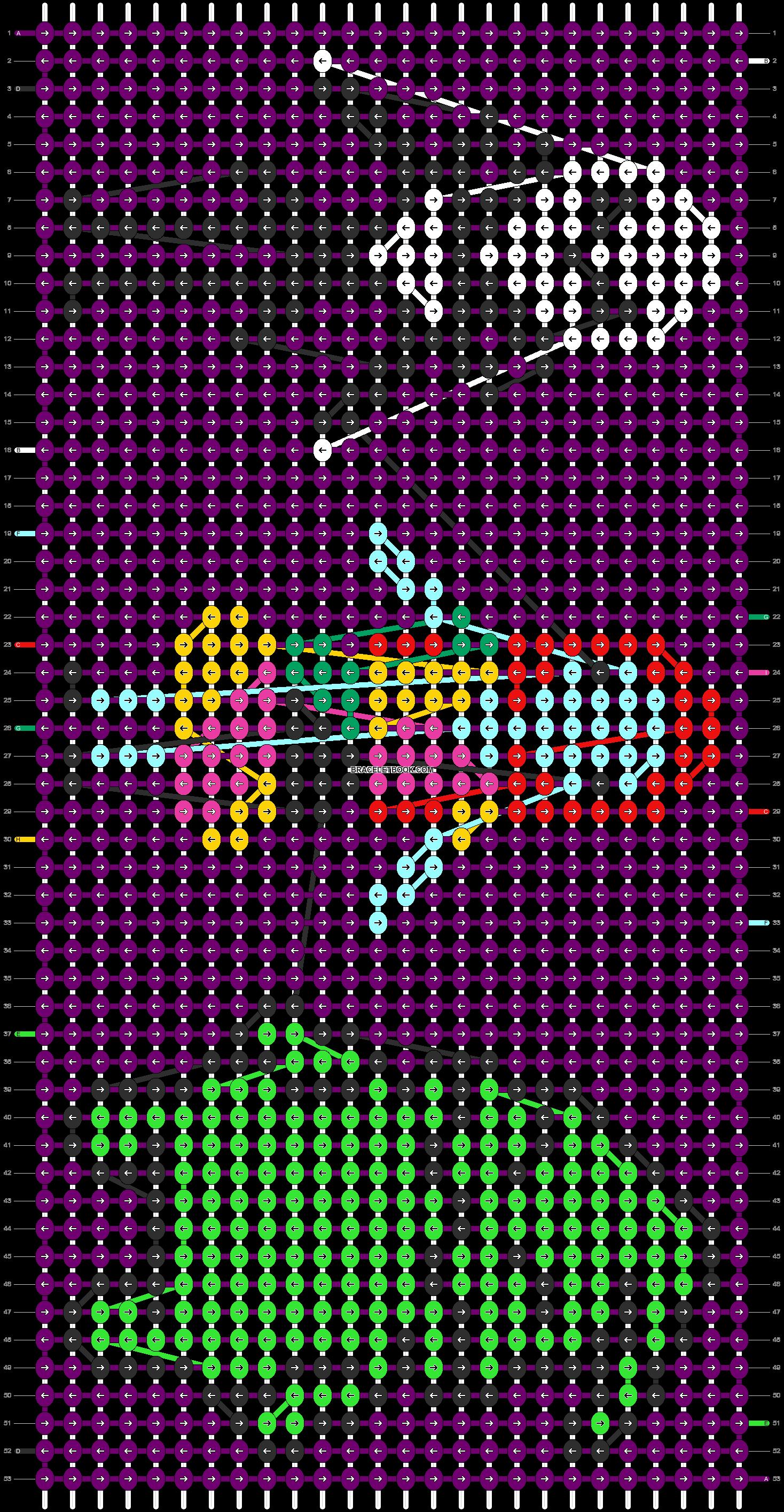 Alpha pattern #12730 pattern