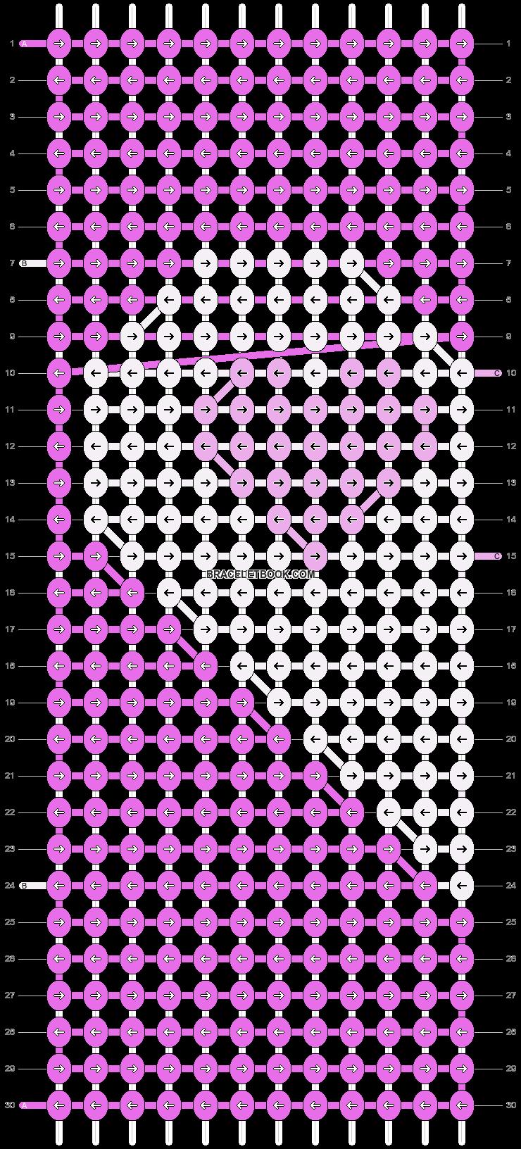 Alpha pattern #12731 pattern