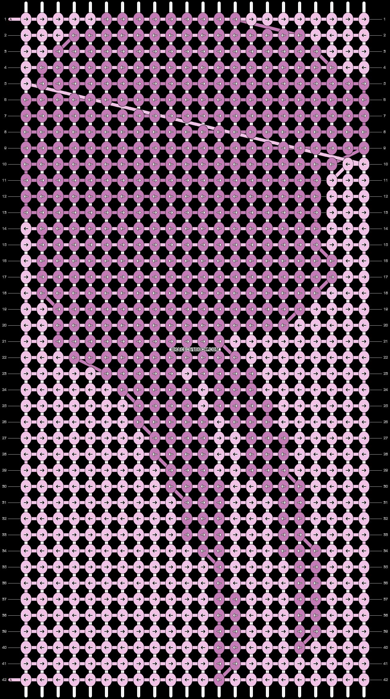 Alpha pattern #12738 pattern