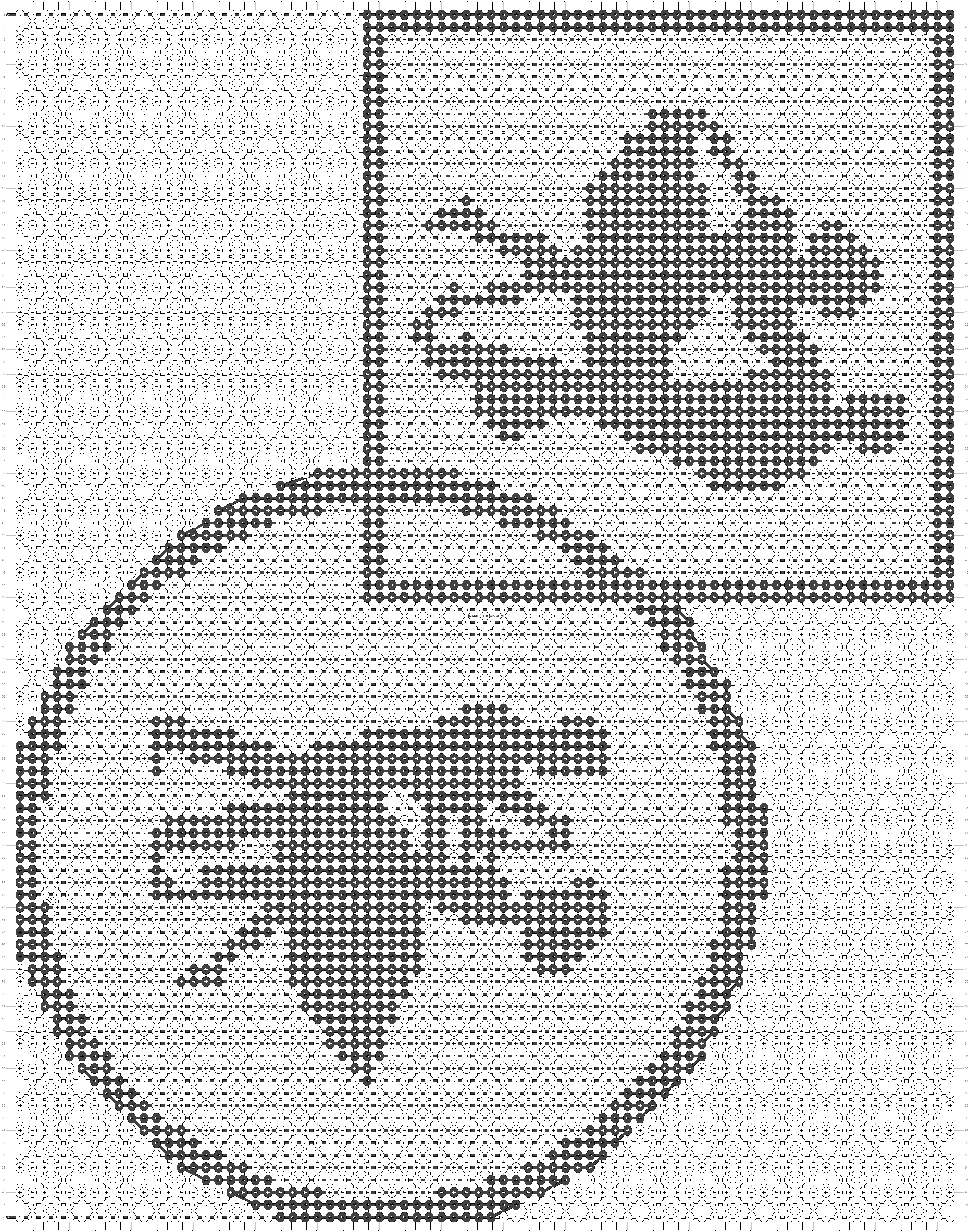 Alpha pattern #12743 pattern