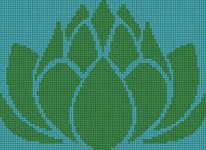 Alpha pattern #12744